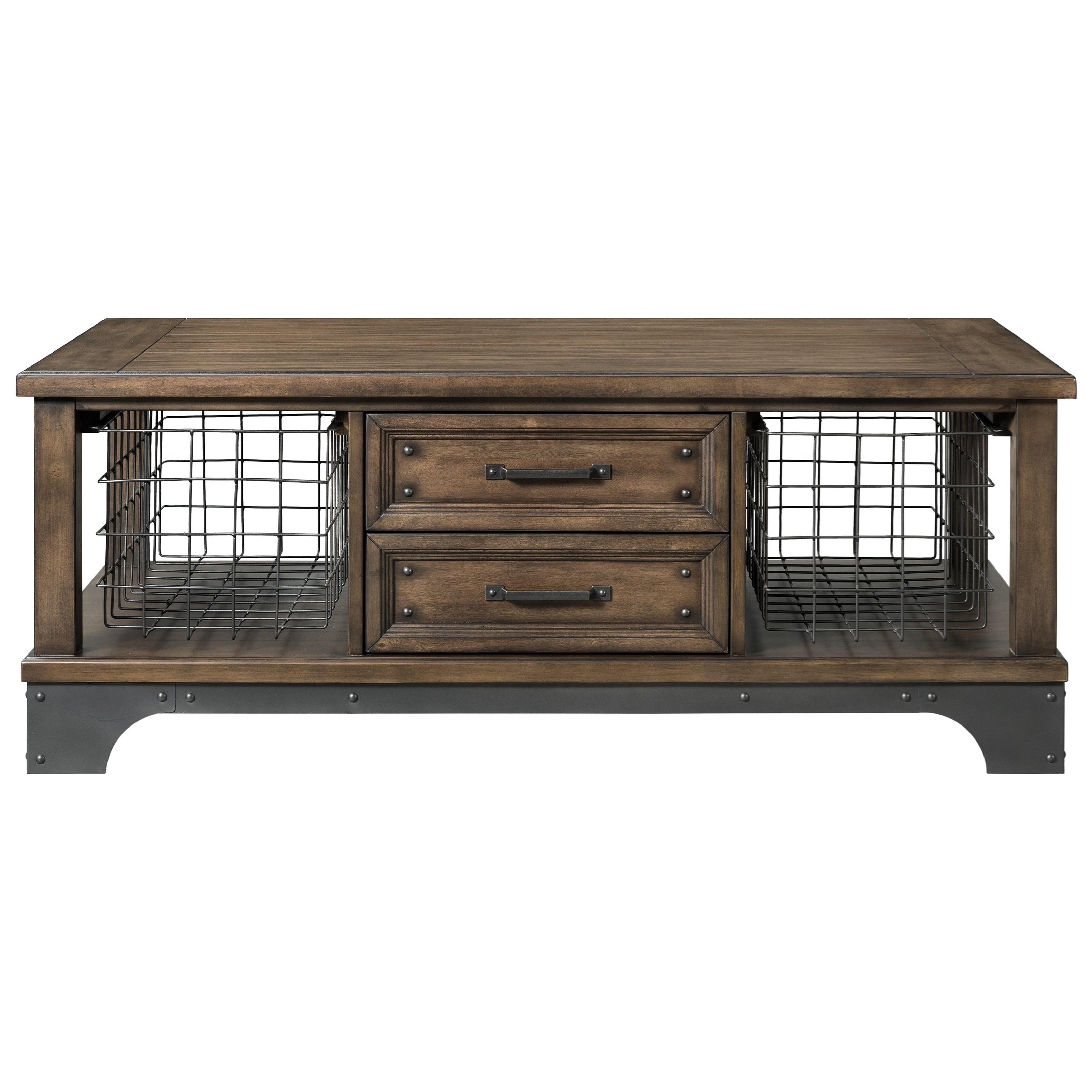 Whiskey River  Cocktail Table by Intercon at Darvin Furniture