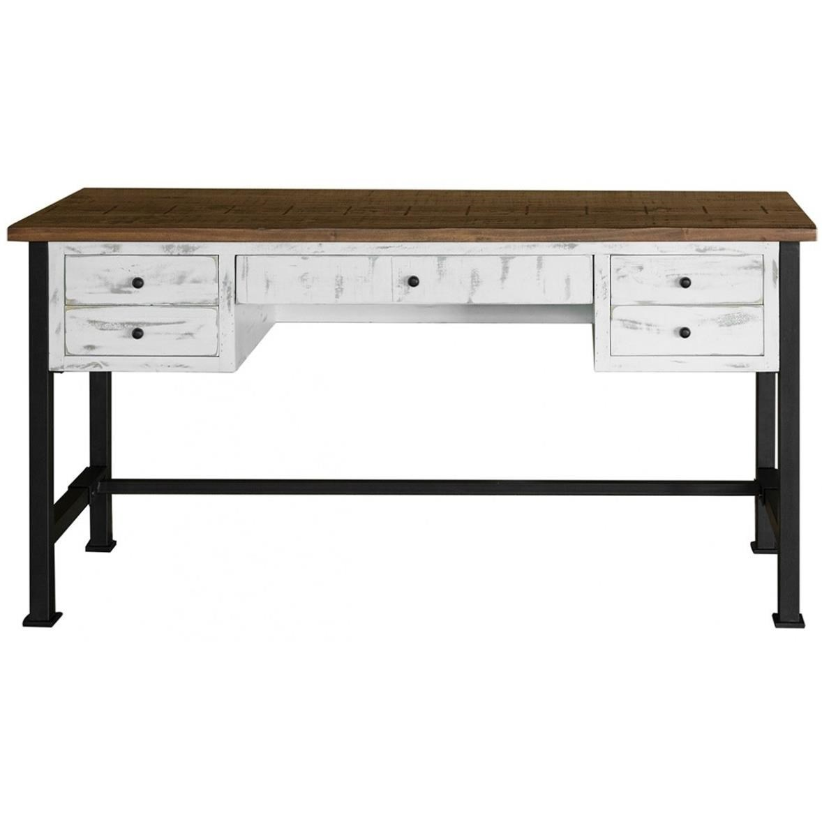 Pueblo Writing Desk by International Furniture Direct at Darvin Furniture