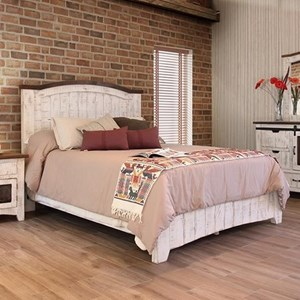 International Furniture Direct Pueblo Cal King Bed