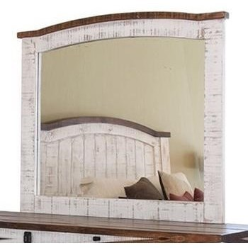Pueblo Mirror by International Furniture Direct at Wilson's Furniture