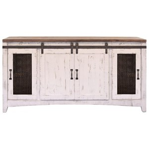 TV Stand with Four Doors