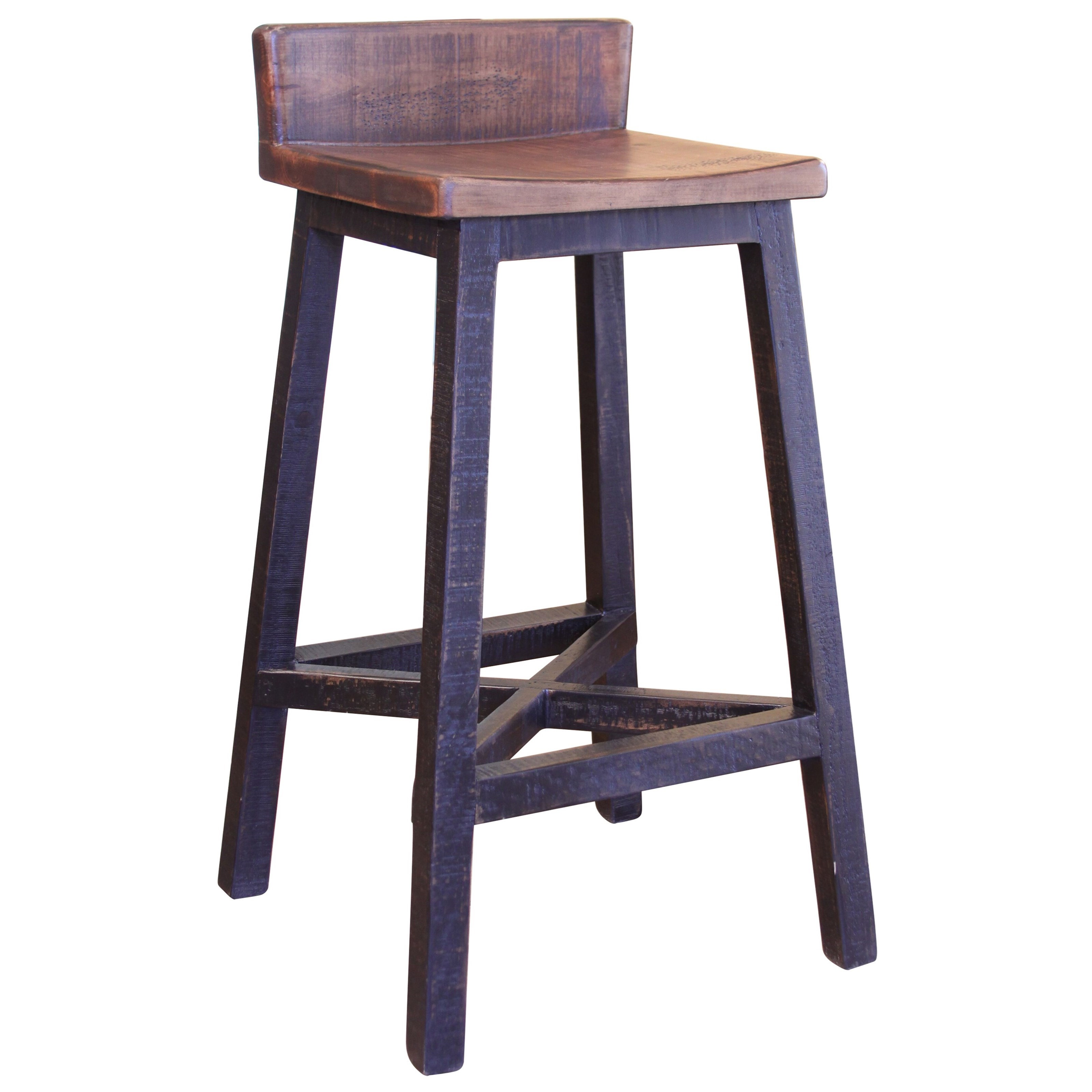 Pueblo Bar Stool by International Furniture Direct at Home Furnishings Direct
