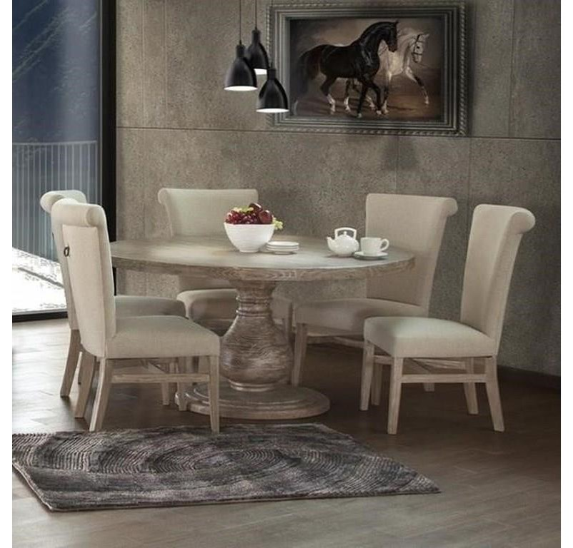 Bonanza Sand 5 PC Dining Room Set by International Furniture Direct at Sam Levitz Furniture