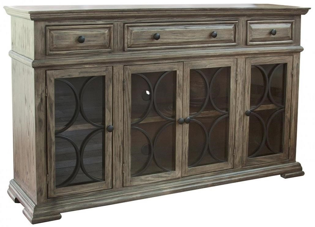 Bonanza Sand Sideboard by International Furniture Direct at Upper Room Home Furnishings