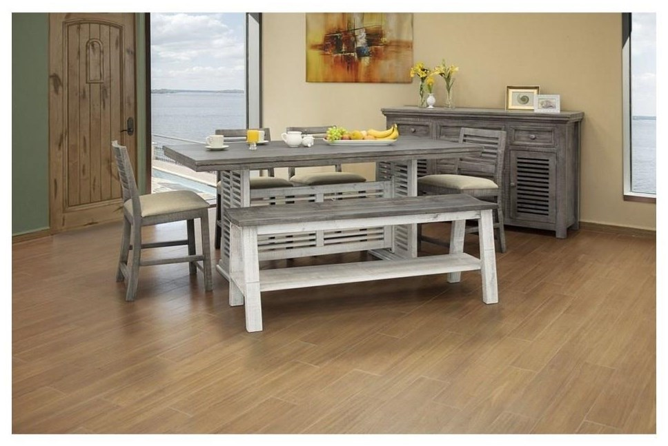 7 PC Counter Height Table Set