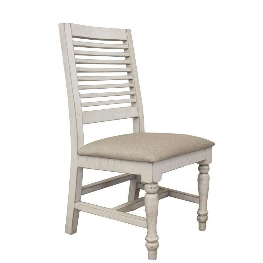 Stone Side Chair by International Furniture Direct at Catalog Outlet