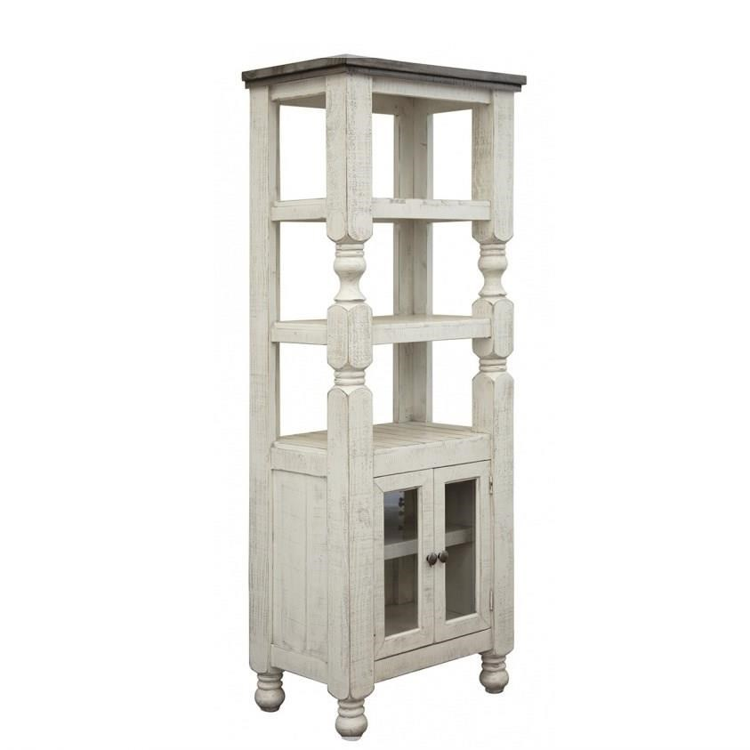 Stone Bookcase by International Furniture Direct at Darvin Furniture