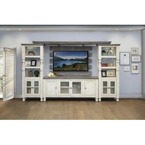 Relaxed Vintage Entertainment Center