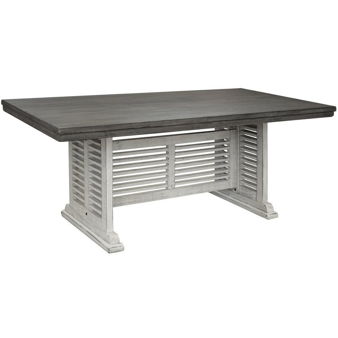 Stone Counter Height Table by International Furniture Direct at Catalog Outlet