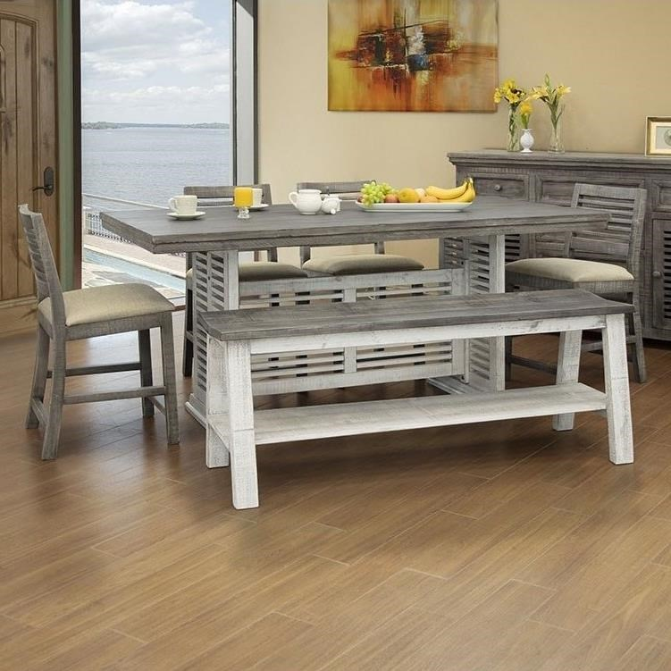 Stone 6-Piece Counter Height Table and Chair Set at Williams & Kay