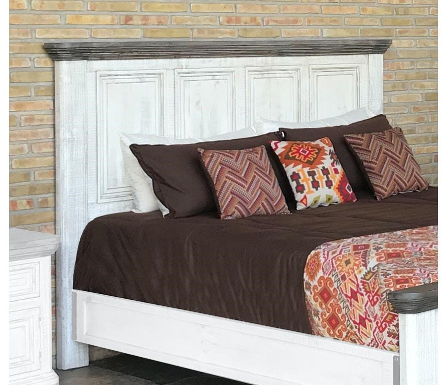 768 Luna Queen Headboard Only by International Furniture Direct at Johnny Janosik
