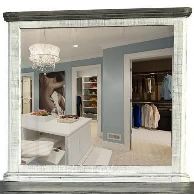 768 Luna Mirror by International Furniture Direct at Sparks HomeStore