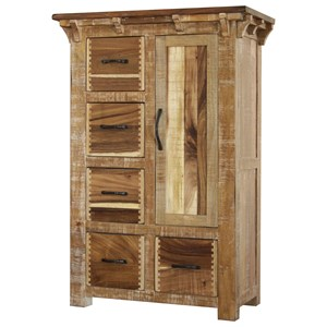 Chest of Drawers with One Door