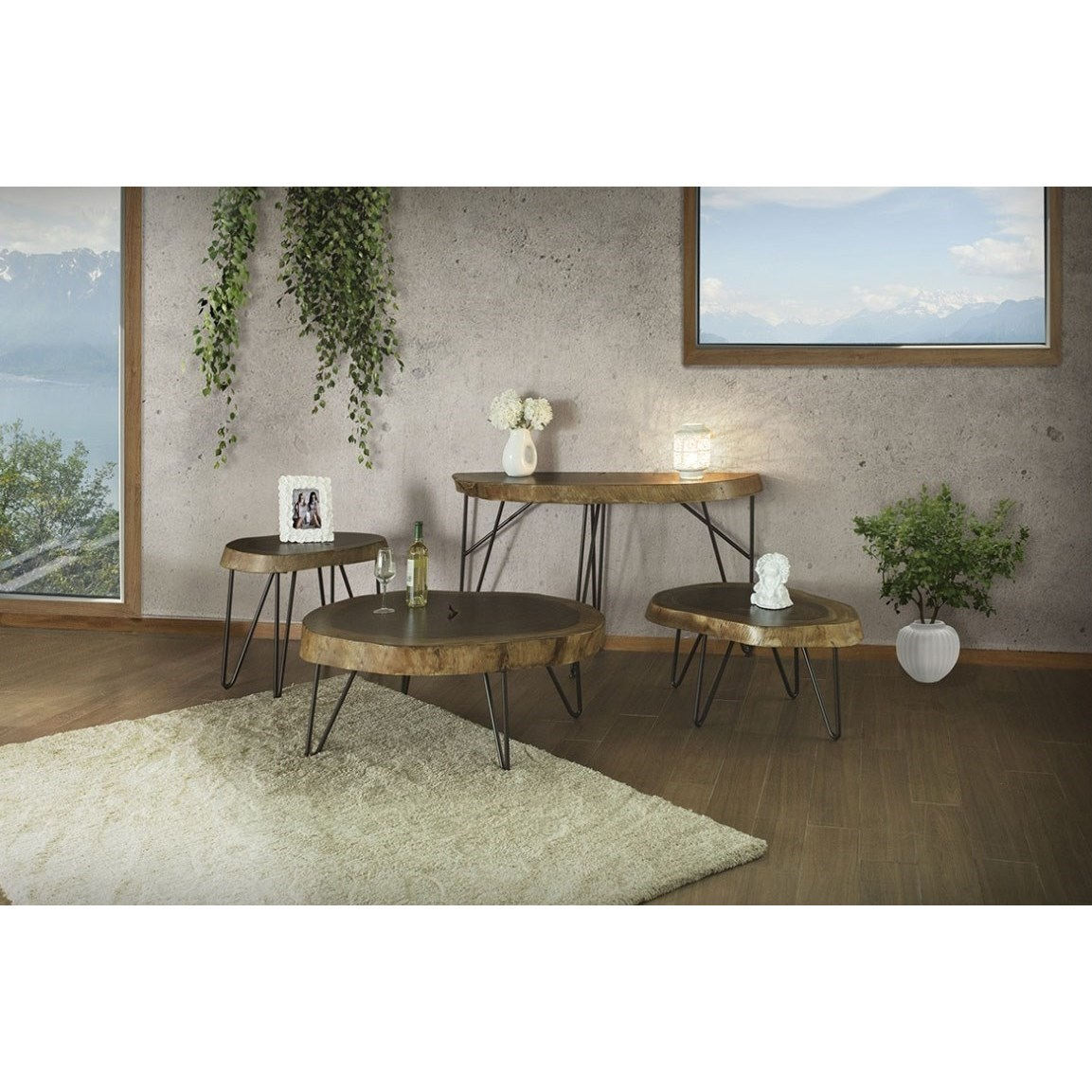 Vivo Occasional Table Group by International Furniture Direct at Furniture Superstore - Rochester, MN