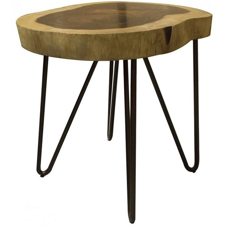 Vivo Chair Side Table by International Furniture Direct at Furniture Superstore - Rochester, MN