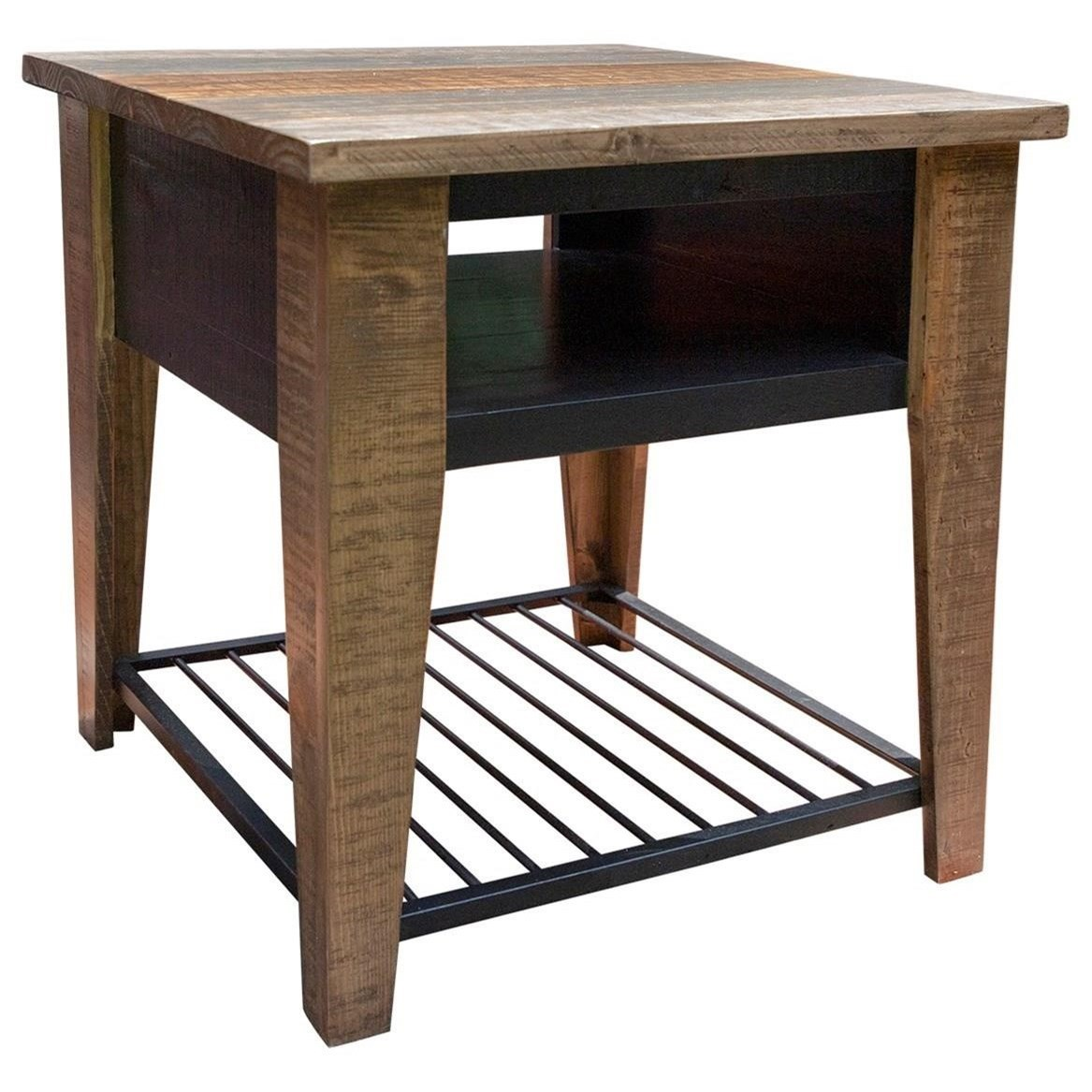 Agave End Table by International Furniture Direct at Houston's Yuma Furniture
