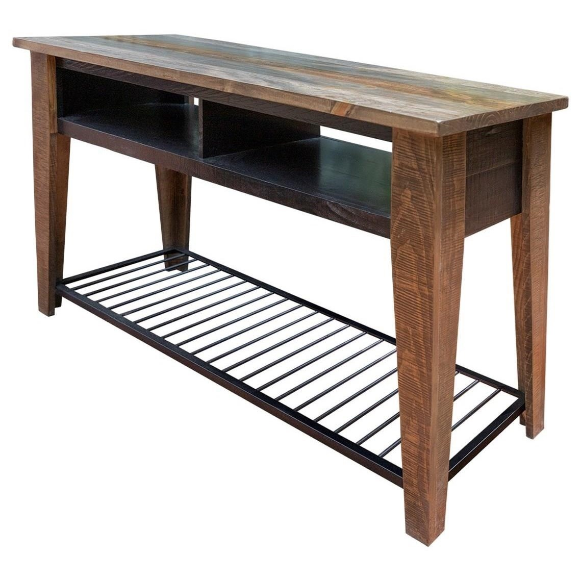 Agave Sofa Table by International Furniture Direct at Catalog Outlet