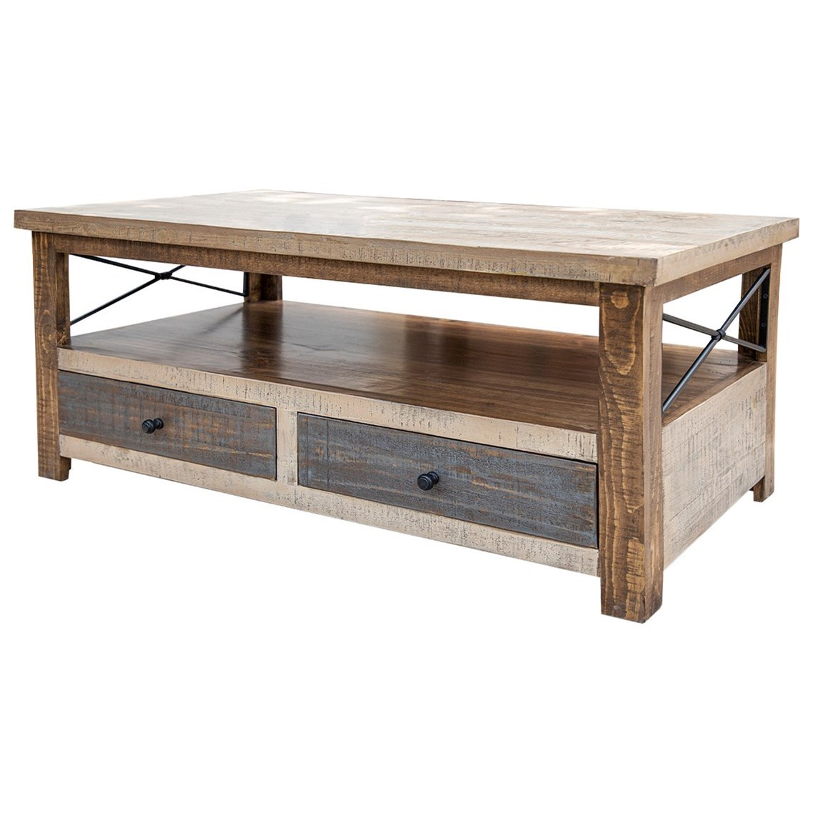 Andaluz Cocktail Table by International Furniture Direct at Catalog Outlet