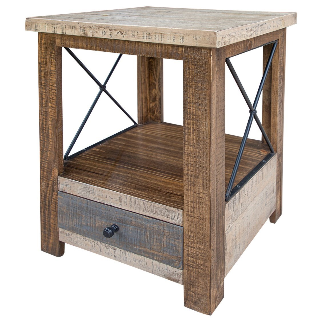 Andaluz End Table by International Furniture Direct at Furniture and ApplianceMart