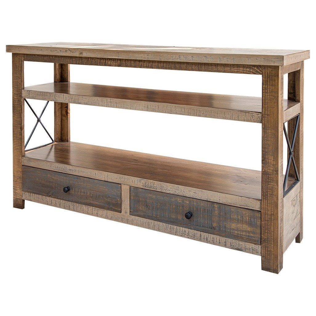 Andaluz Sofa Table by International Furniture Direct at Catalog Outlet