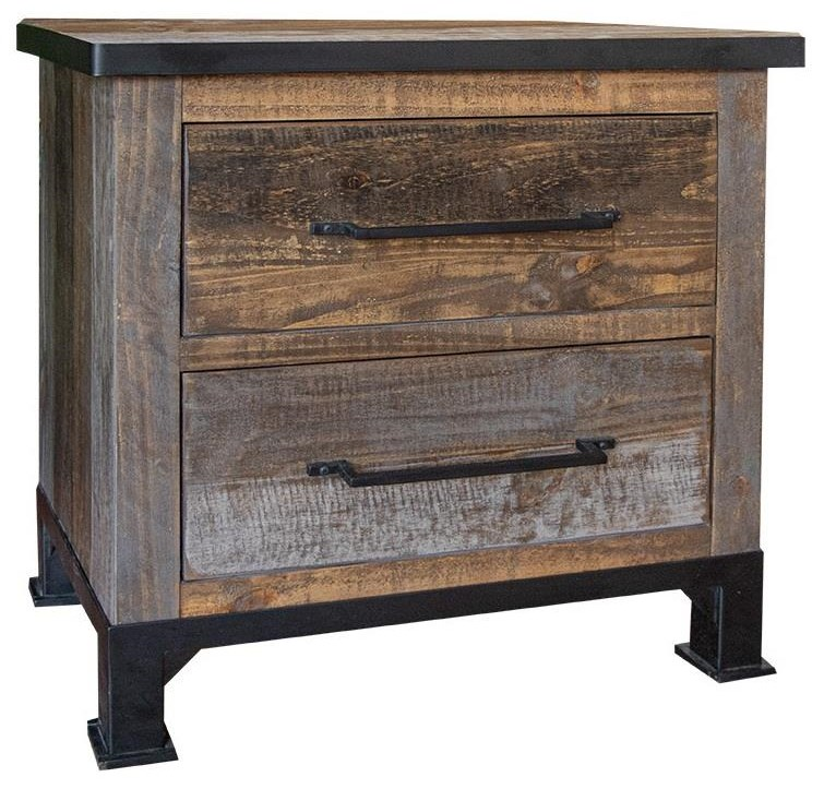 Antique Night Stand by Artisan at Bennett's Furniture and Mattresses