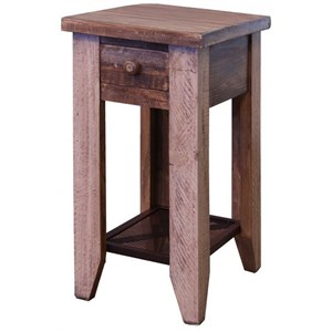 Solid Pine Chairside Table