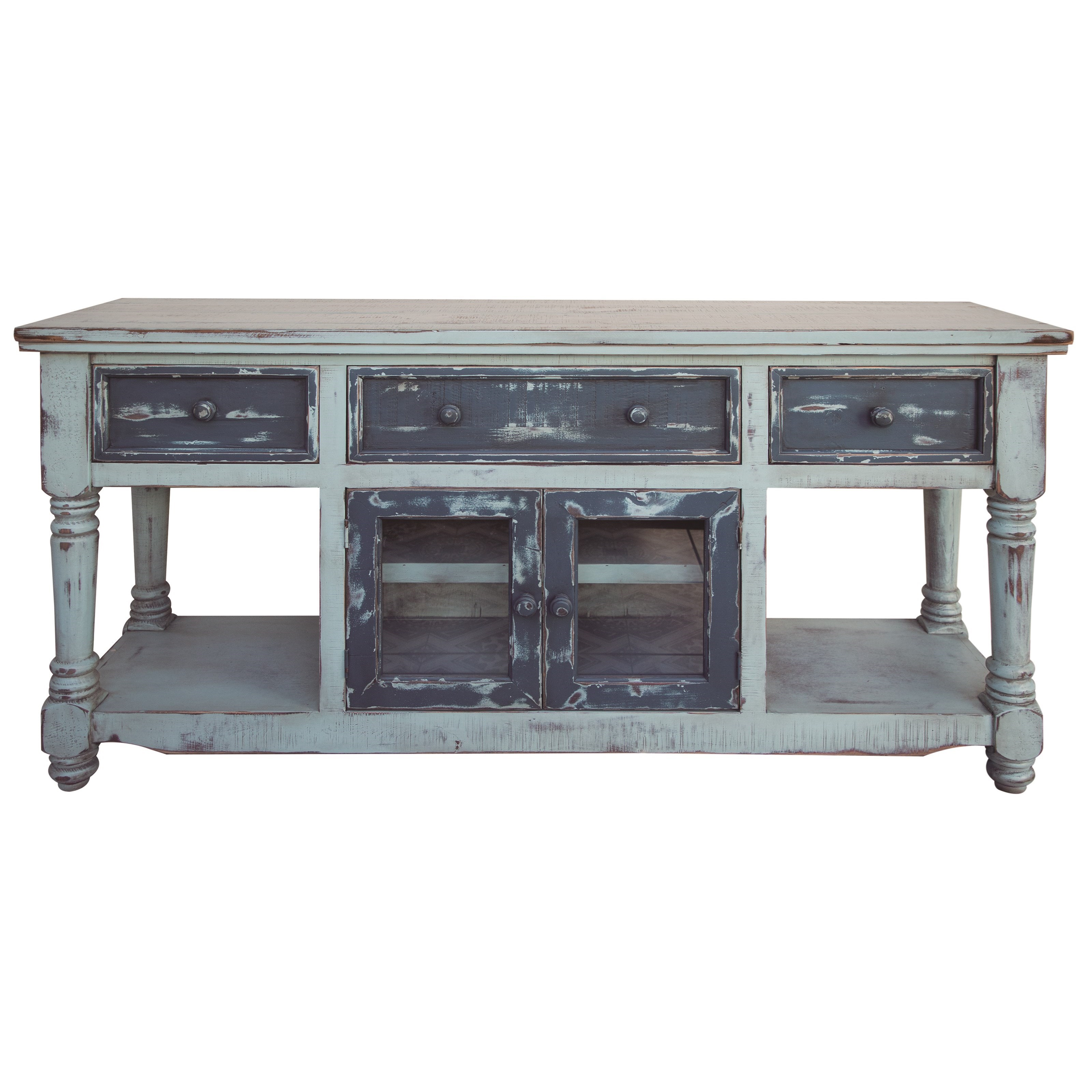 """Aruba 70"""" TV Stand with 4 Drawers and 2 Doors at Williams & Kay"""