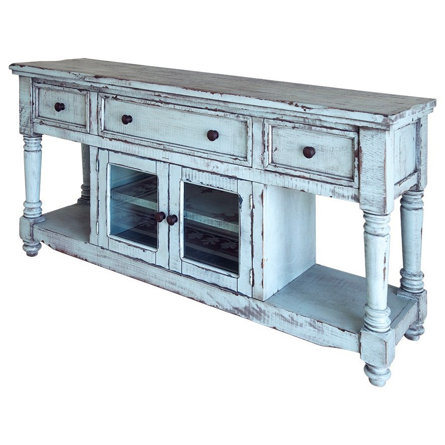 """Aruba 70"""" TV Stand with 4 Drawers and 2 Doors by VFM Signature at Virginia Furniture Market"""