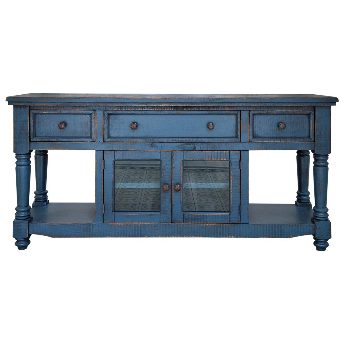 "Aruba 70"" TV Stand with 4 Drawers and 2 Doors at Sadler's Home Furnishings"