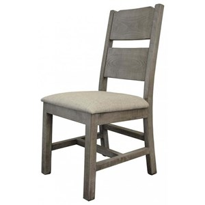 Rustic Solid Wood Dining Side Chair