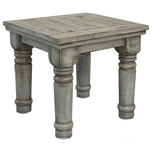 Relaxed Vintage Solid Wood End Table
