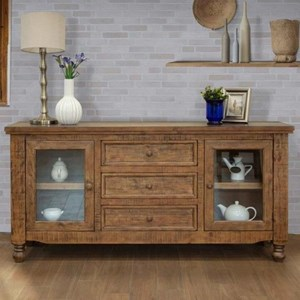 Relaxed Vintage 3-Drawer and 2-Drawer Buffet