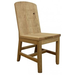 Rustic Solid Wood Chair