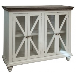 Relaxed Vintage 4-Door Console