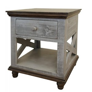 Relaxed Vintage 1-Drawer End Table