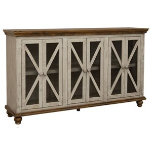 Relaxed Vintage 6-Door Console