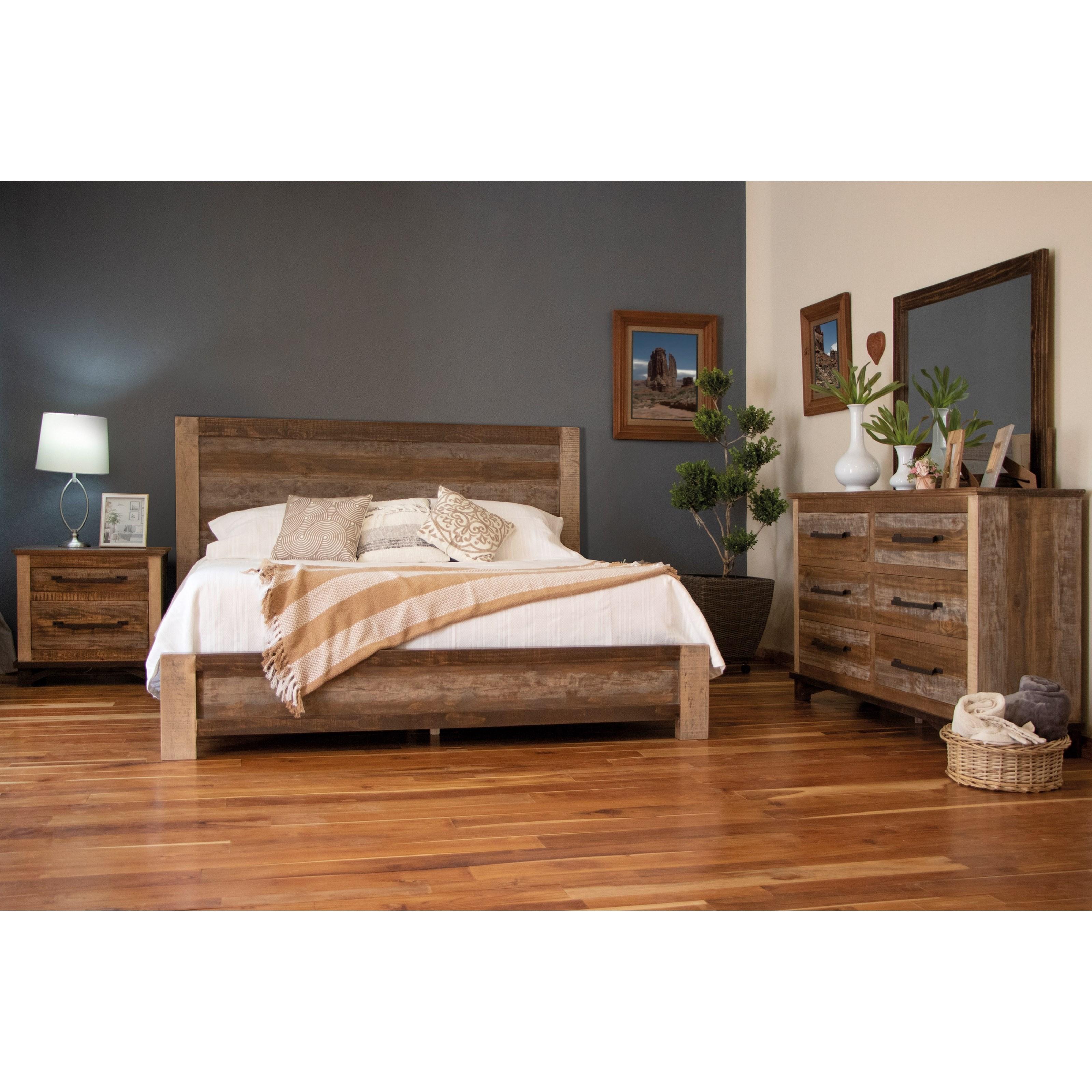 Golden Loft Bedroom Group by International Furniture Direct at Catalog Outlet