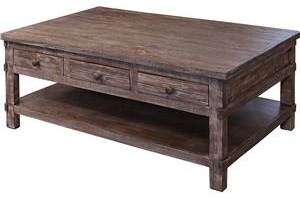 Cocktail Table with 6 Drawers
