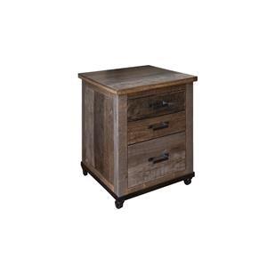 Rustic File Cabinet