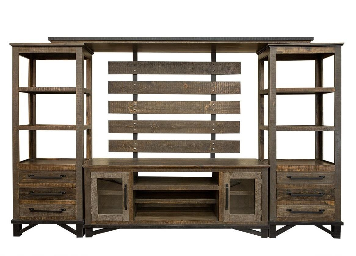 Loft Wall Unit by International Furniture Direct at Sparks HomeStore