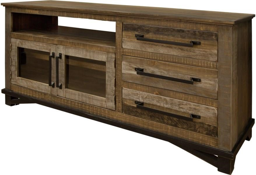 """Loft 62"""" TV CONSOLE by International Furniture Direct at Darvin Furniture"""