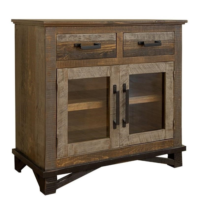 Loft 2 Drawers, 2 Door Server by International Furniture Direct at Darvin Furniture