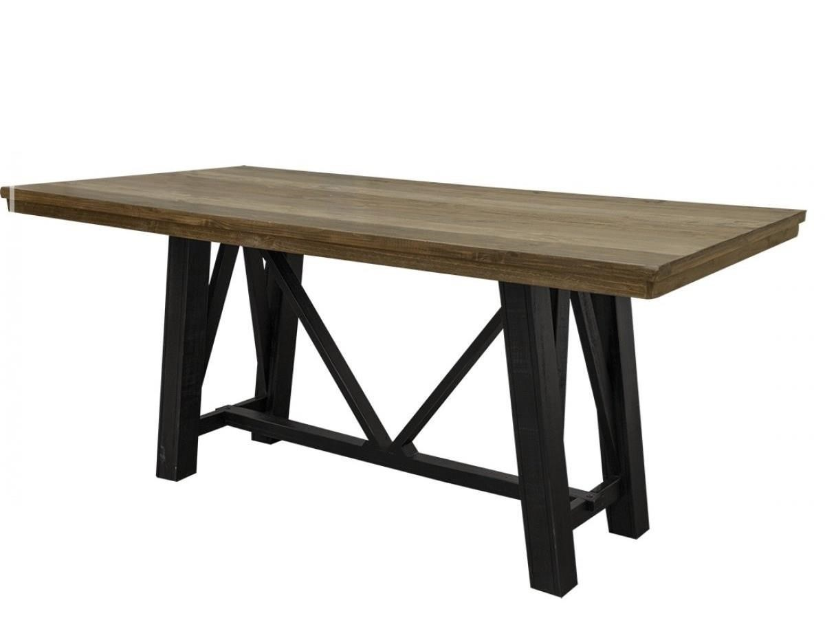 Loft Counter Height Table by International Furniture Direct at Zak's Home