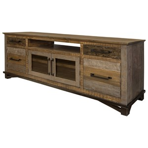 Rustic 76' TV Stand