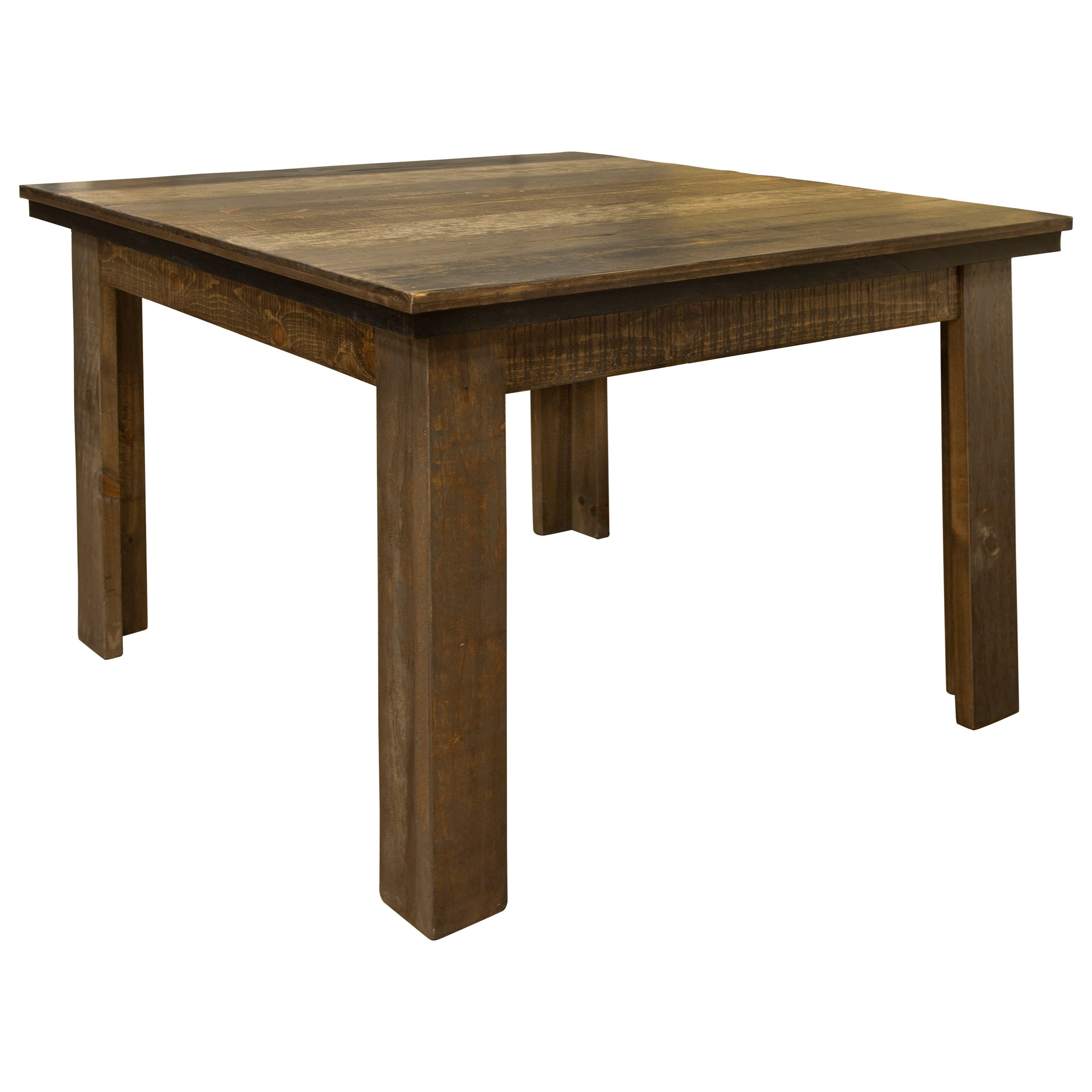 Loft Brown Rustic Dining Table by International Furniture Direct at Sam Levitz Outlet