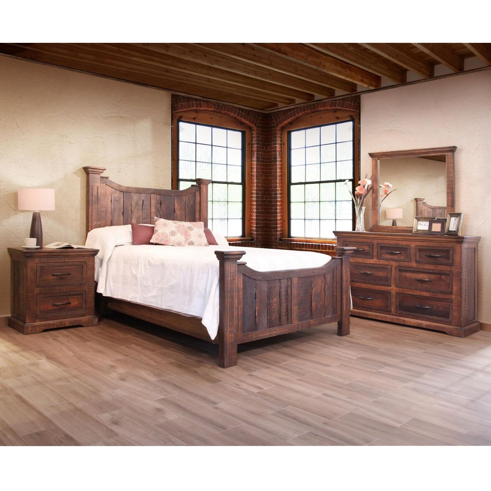 Madeira King Bedroom Group by VFM Signature at Virginia Furniture Market