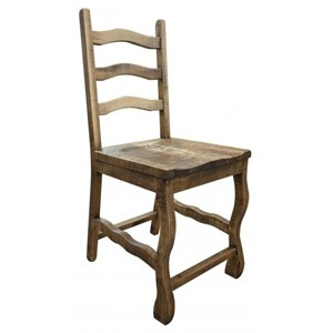 Wooden Ladder Back Counter Height Barstool