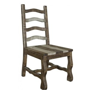 Solid Wood Ladder Back Side Chair