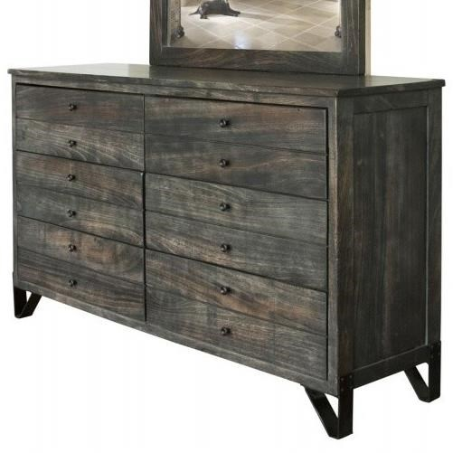 Moro Dresser by International Furniture Direct at Sparks HomeStore