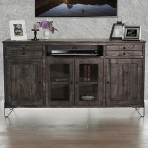 "Contemporary Solid Wood 70"" TV Stand"